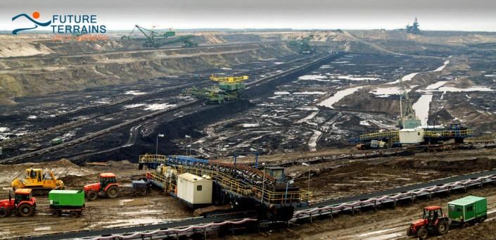Lignite surface mine Poland