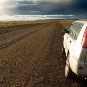 Road through Argentine Patagonia