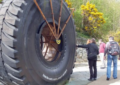 'From the Earth' mining exhibit; Eden Project