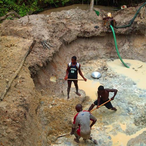 Community development briefing Liberia