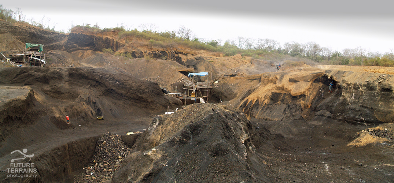 Galapagos Islands aggregates quarry, Ecuador