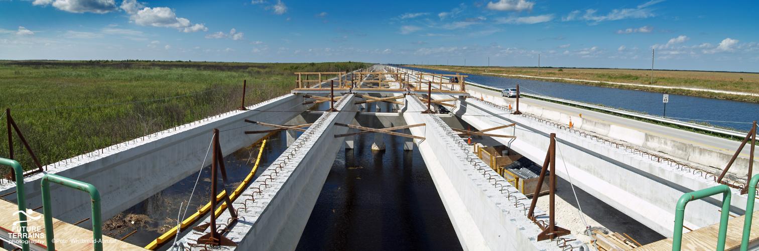 Tamiami bridging project, Florida Everglades