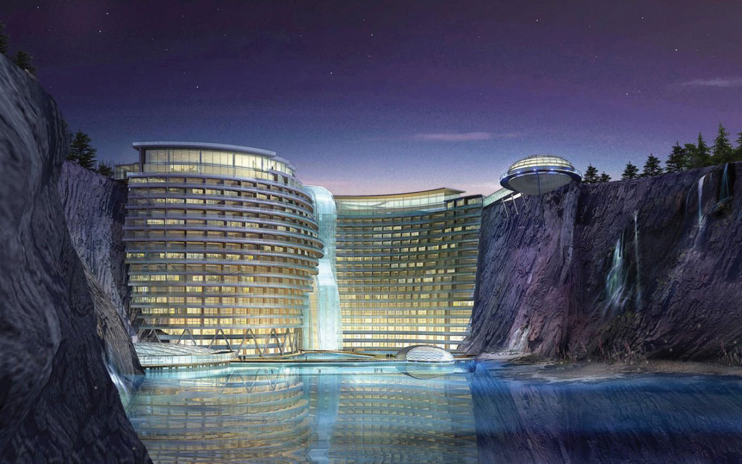 Hotel in a Chinese Quarry Anyone?