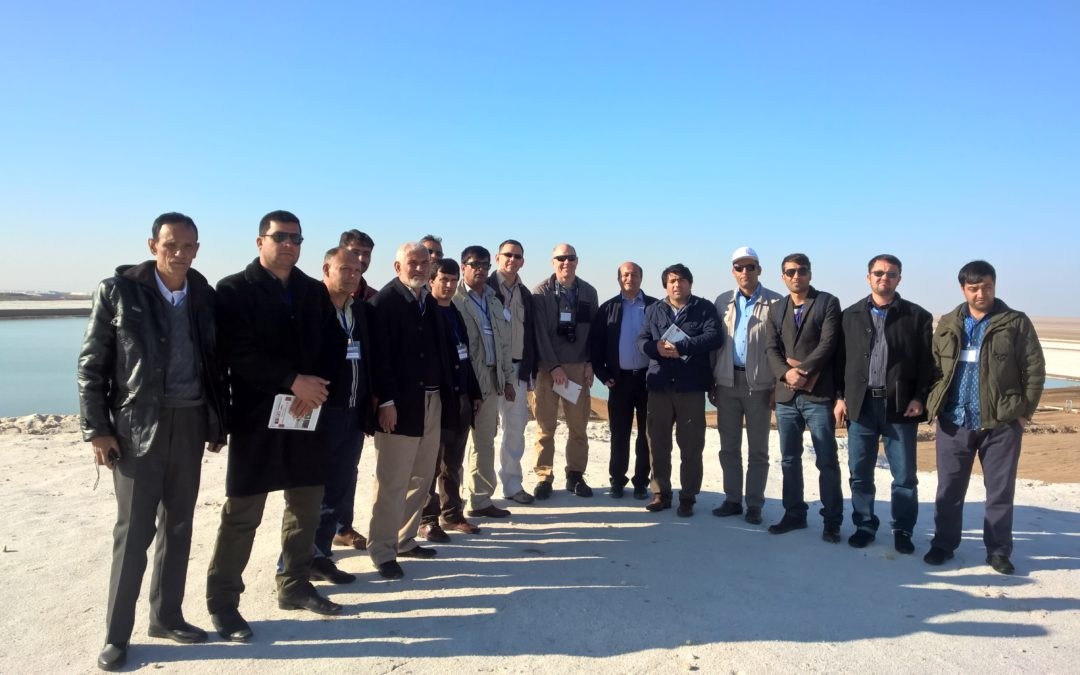 Mining-environmental field excursion for Afghan trainees to Iran