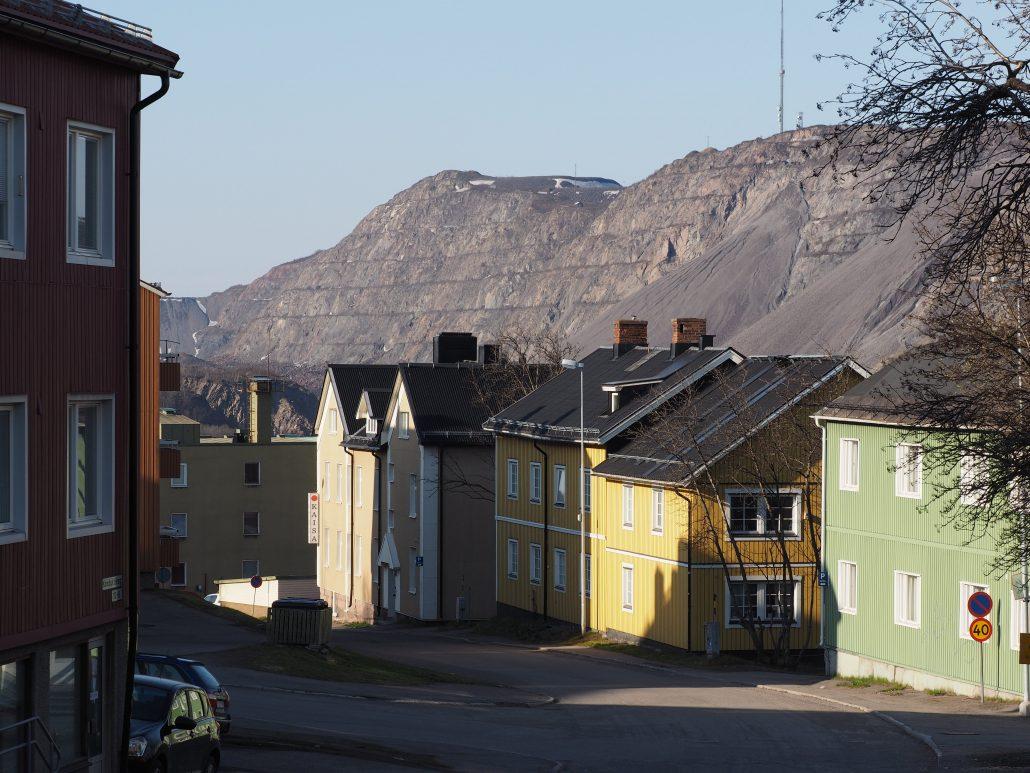 Kiruna town and mine