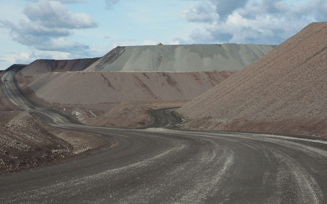 NITREM – nitrate removal from mine wastes and geomorphic reclamation at Kiruna iron mine, Arctic Sweden